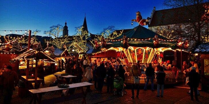Adventní Ingolstadt s nákupy v obřím outletu Wertheim Village