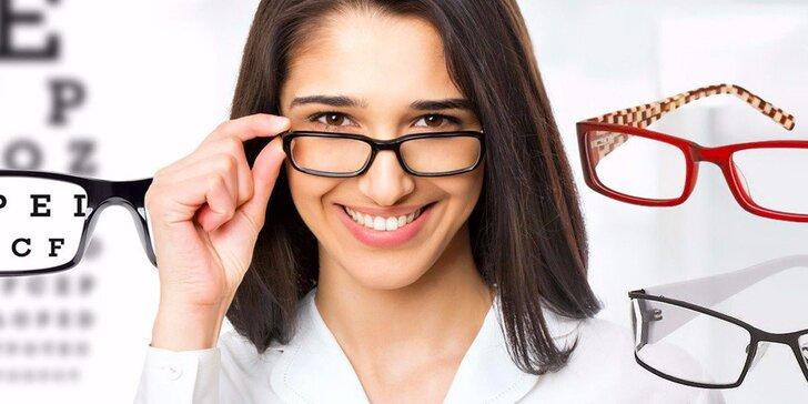 Brýlové obruby Sunoptic v hodnotě 1000 Kč z Optiky Novotný