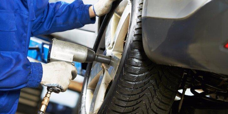 Kompletní přezutí pneumatik vašeho vozidla v ND Studánka
