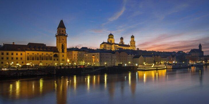 Předvánoční nálada v historicky zajímavém bavorském městě: Pasov
