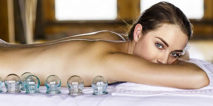 Baňková masáž pro dokonalé uvolnění celého těla