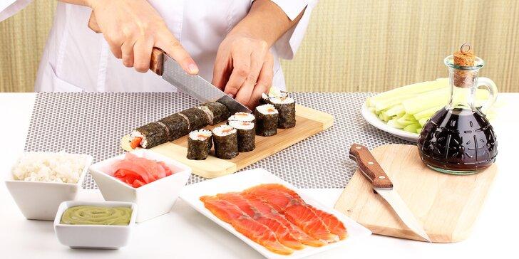 Rolování v rytmu Café Buddha: Kurz přípravy sushi pro pokročilé
