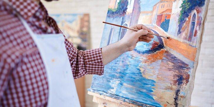Jednotlivé lekce kresby, malování a grafiky v umělecké škole