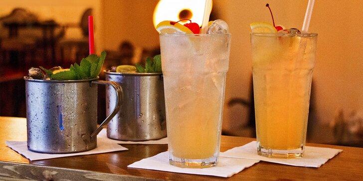 Párty drinky pro partu přátel: 2x Moscow Mule a 2x Tom Collins