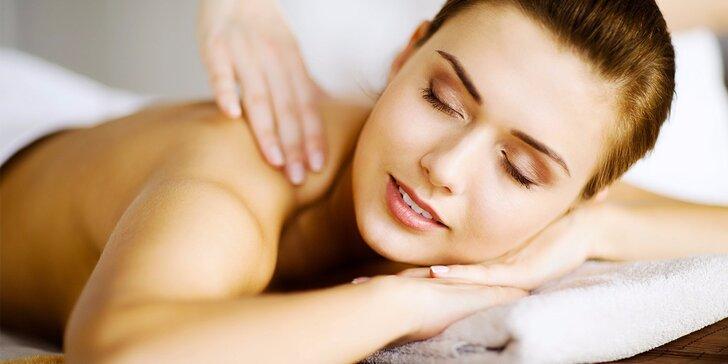 Uvolňující hodinová masáž – výběr ze 6 druhů pro jednoho i pár