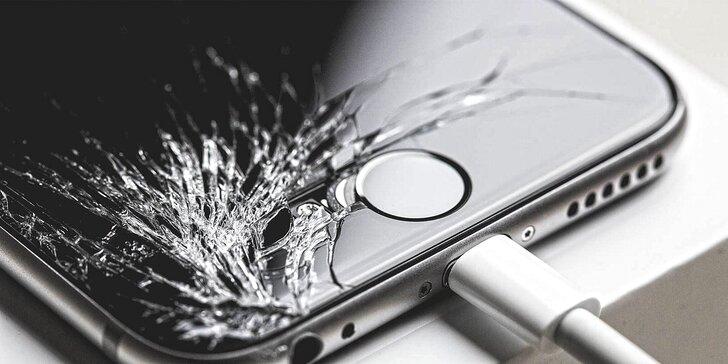 Expresní výměna rozbitého displeje na iPhonu