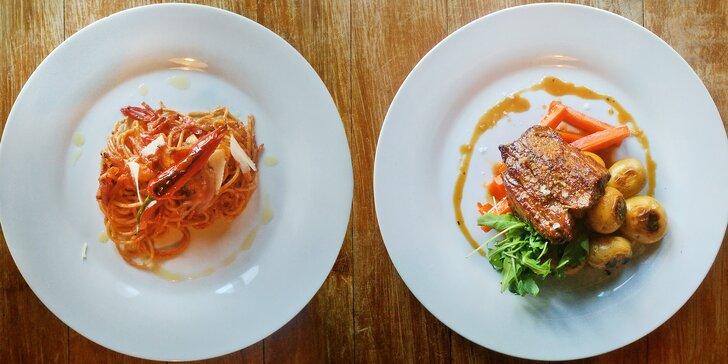 Itálie pro mlsné jazýčky: 4chodové degustační menu pro dva gurmány