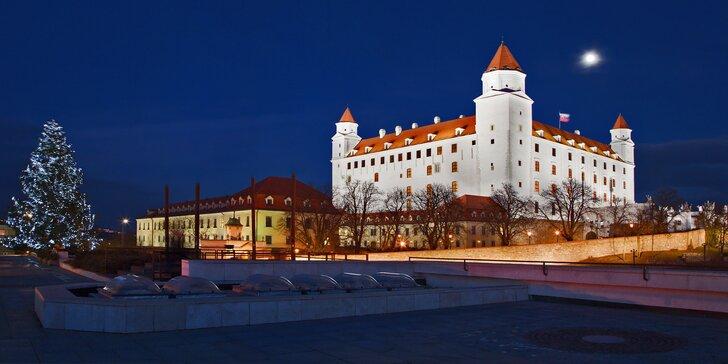 Nasajte sváteční inspiraci v Bratislavě během 1denního adventního zájezdu