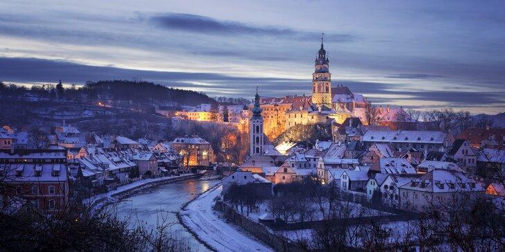 Adventní Český Krumlov a největší český průvod čertů v Kaplici