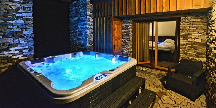 Luxusní pobyt v soukromém 5* apartmánu s vlastní saunou a vířivkou