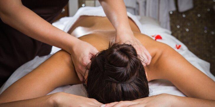 Masáž v salonu Elite: Hodina blaha pro tělo i mysl