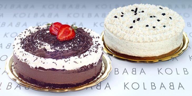 Sladké potěšení z Kolbaby - lahodný kávový dort nebo harlekýn