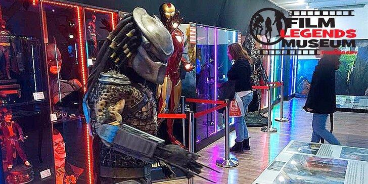 Vstupenky na výstavu Film Legends Museum nejen pro milovníky filmu