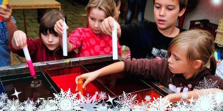 Svíčkárna Rodas: Klasické či vánoční tvoření a návštěva mini zoo