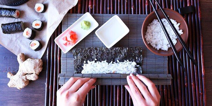 Naučte se rolovat jako japonští mistři v Kurzu Sushi Café Buddha