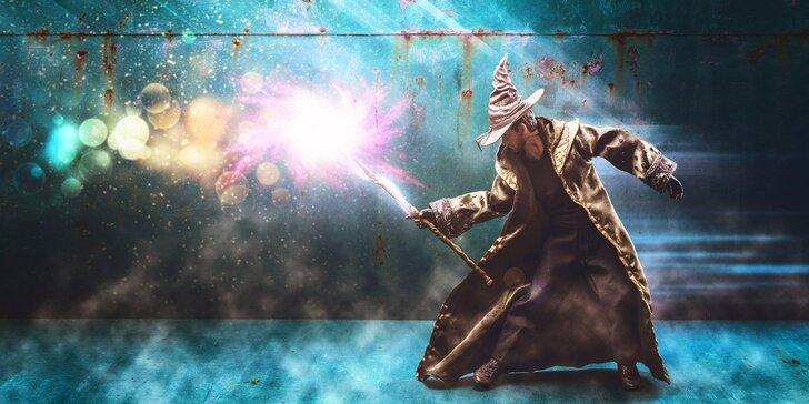 Úniková hra Čaroděj pro důvtipné děti: Vyzrajte na magická kouzla a utečte