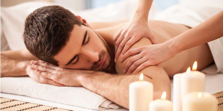60minutová relaxační, detoxikační či sportovní masáž celého těla