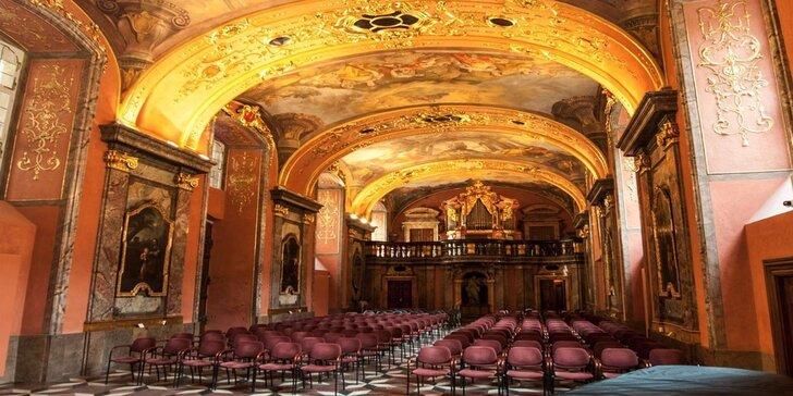 Exkluzivní gala koncerty v Zrcadlové kapli Klementina