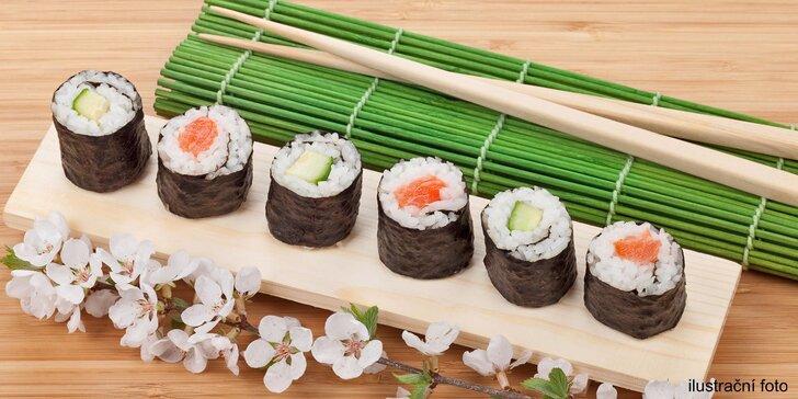 Set Hanuma - 32 vynikajících kousků sushi k odnosu s sebou