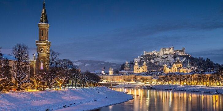 Jednodenní výlet do vánočně laděného Salzburgu