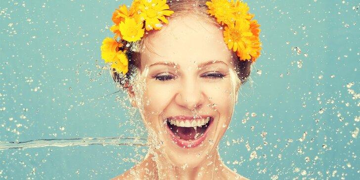 Hloubkové vyčištění všech typů pleti včetně liftingové masáže obličeje