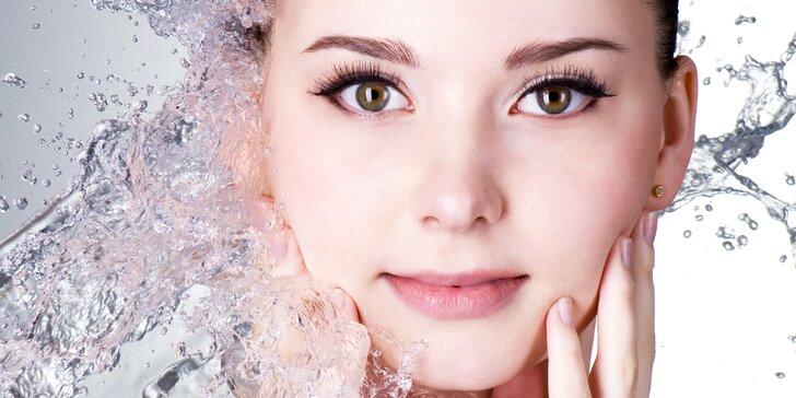 90minutové hloubkové čištění a ošetření pleti včetně masáže obličeje