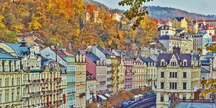 2-3 denní pobyt v Karlových Varech s polopenzí a neomezené konzumace kávy