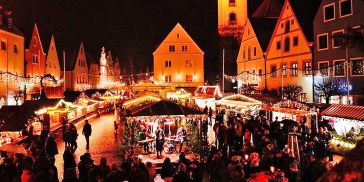 Zažijte neopakovatelnou atmosféru na vánočních trzích ve Weidenu