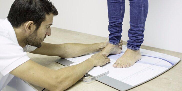 Statická analýza chodidel - řešení pro váš lehký a zdravý krok