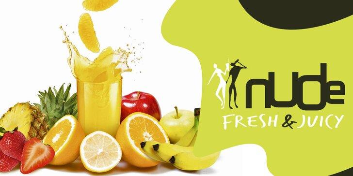 Pořádná dávka přírodních vitamínů: Dárková karta do NUDE Fresh & Juicy
