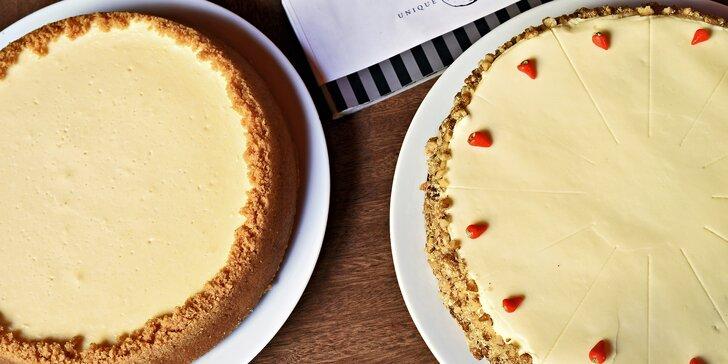 Pravá chuť Ameriky z Bohemia Bagel - cheesecake nebo mrkvový dort