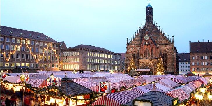 Za vánoční atmosférou na pohádkové adventní trhy v Norimberku v sobotu 10.12.