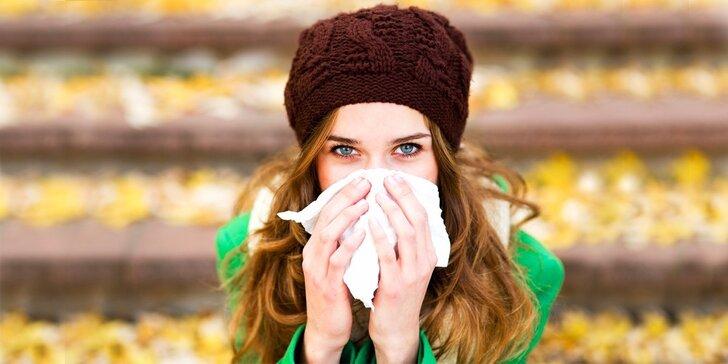 Testování 90 nejběžnějších alergenů neinvazivní metodou
