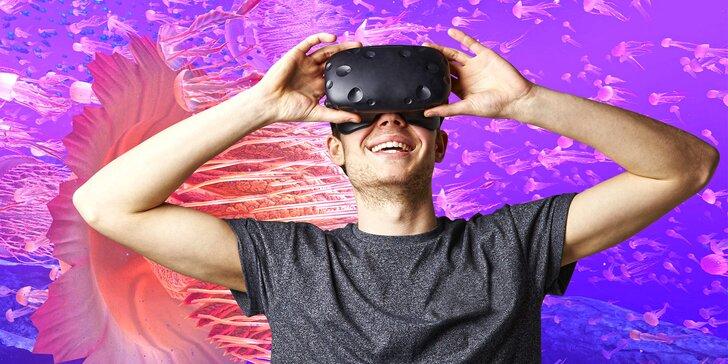 Nejdokonalejší virtuální realita současnosti HTC Vive v centru Brna