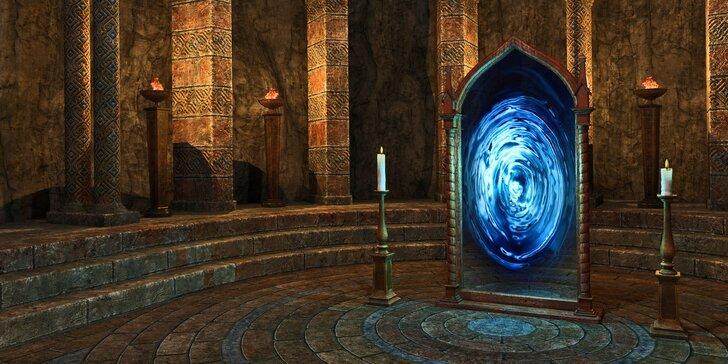 Útěk z Temného chrámu: úniková hra s pokladem pro 2-4 osoby