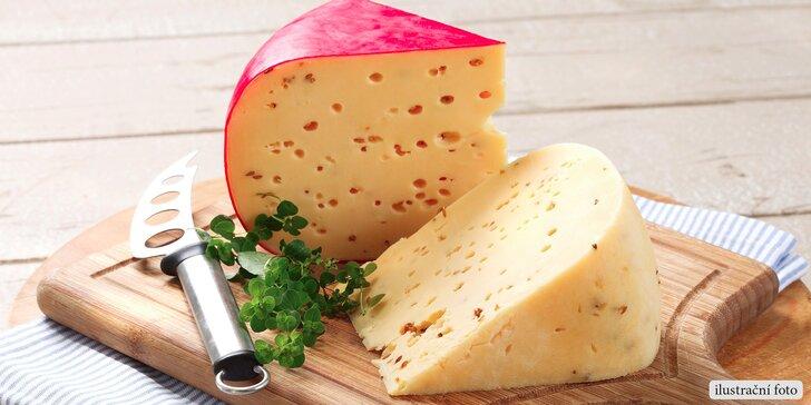 200 nebo 500 g staré goudy nebo sýru maasdam ze sýrárny Cheese House