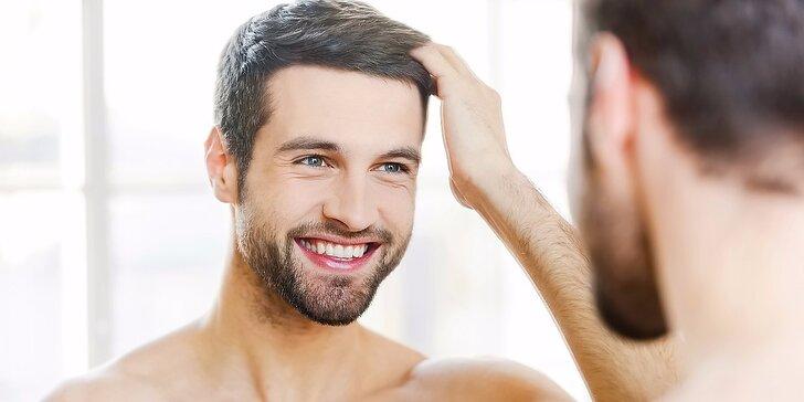 Pánské relaxační ošetření pleti s mořským peelingem včetně masáže