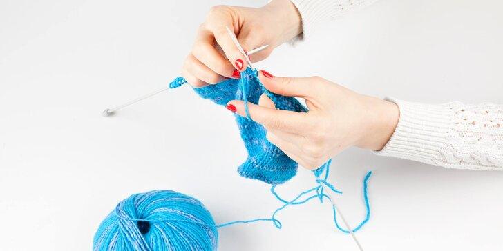 2hodinový kurz základů pletení