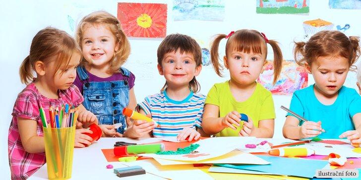 Měsíční hlídání dětí v soukromé školce Safari a výuka AJ