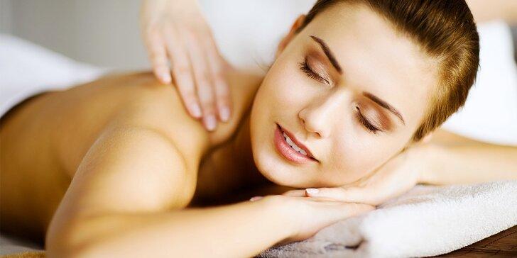 60minutová terapeutická masáž proti bolesti zad Trigger Points