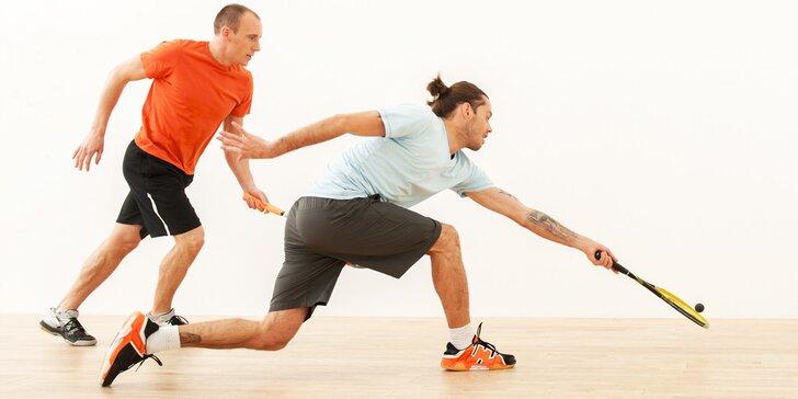 Permanentka na squash nebo badminton do Sportcentra Ivanovice