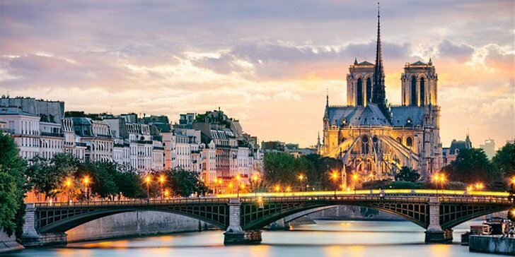 Zájezd do kouzelné silvestrovské Paříže s prohlídkou města