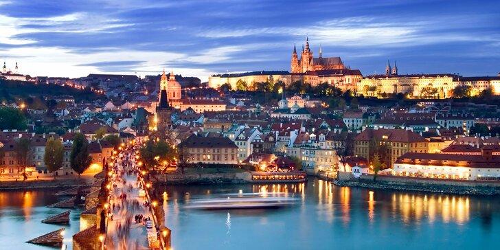 Podzim a zima v Praze pro dva až na 4 noci se snídaní a vstupem do Musea Kampa