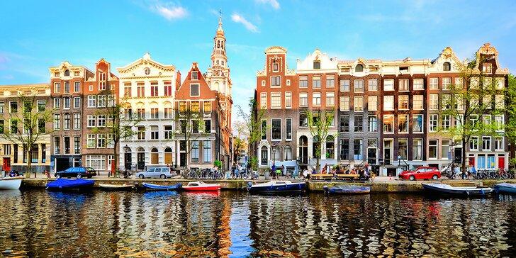 Poznejte Holandsko: Delfinárium, Zaanse Schans, Amsterdam vč. koupání a snídaně
