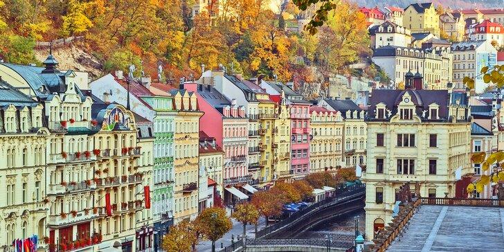 Tři skvělé dny plné wellness v centru Karlových Varů pro dva s polopenzí