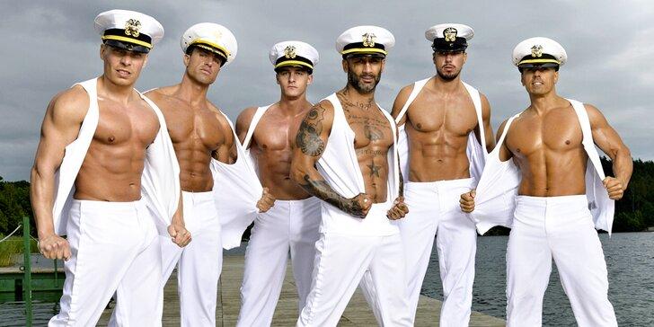 Dámy, pozor: Pánská striptýzová formace California Dreams a její sexy show