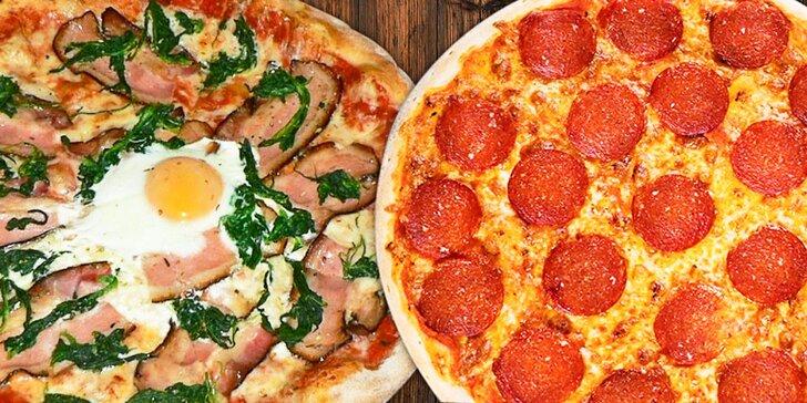 2× tradiční italská pizza v restauraci U Templářů II s 15% slevou na nápoje
