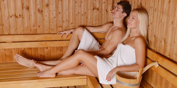 Romantika v privátní sauně pro dva přímo v centru Prahy