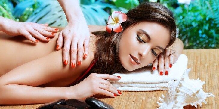 Dokonalé uvolnění: Celotělová aroma olejová masáž