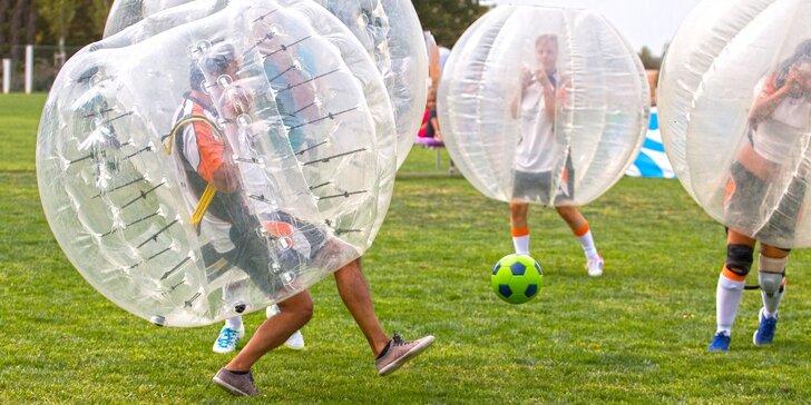 Zábava ve světě bublin: Zapůjčení koulí na bodyzorbing pro celou partu